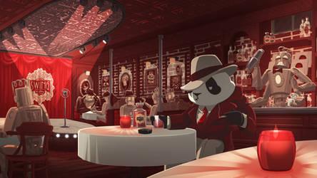 Funky Panda Youtube Art - Swing In Spring 2021
