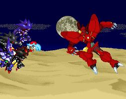 Xeroi and her Enemies vs Destruction by XeriotheCrystalhog