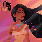 Screencap Redraw Pocahontas