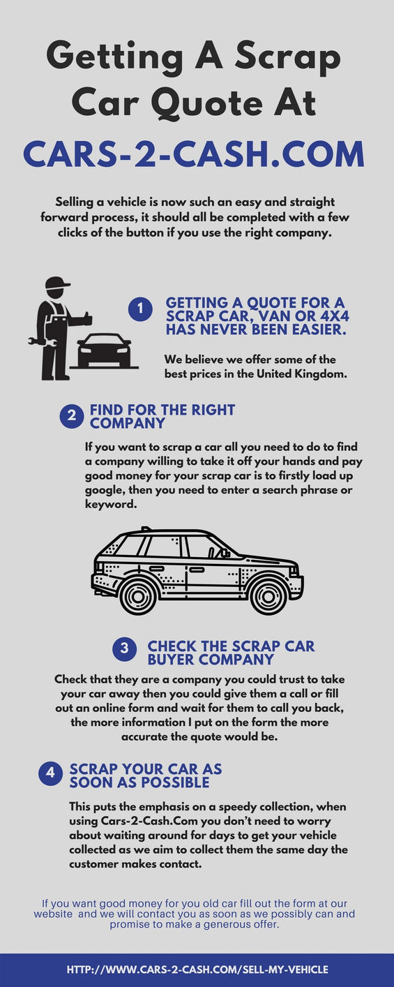 Cash For Junk Cars Online Quote | QUOTES OF THE DAY