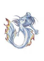 Mermaid - colored by ab-lynx
