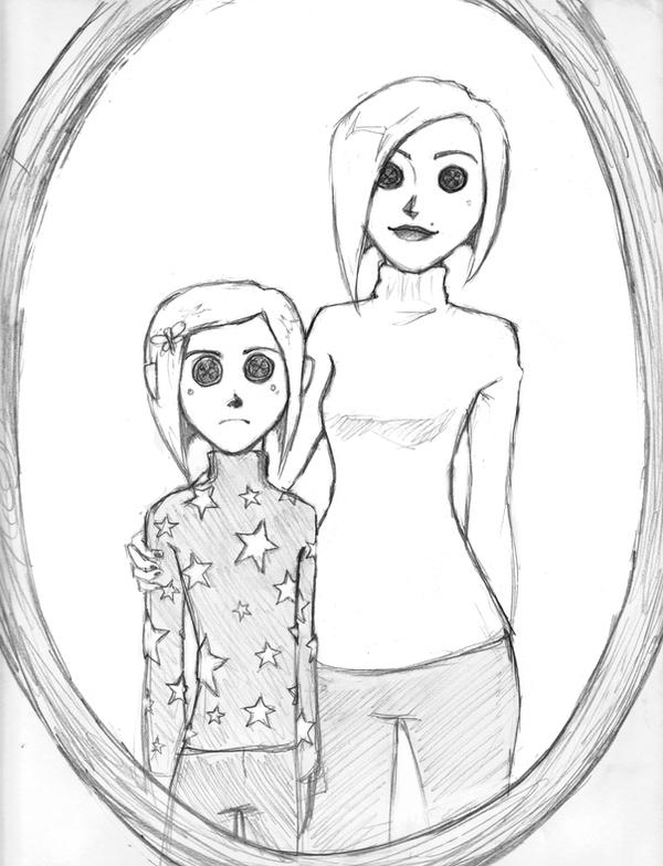 free coraline coloring pages - photo#34