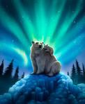 Polar Bears by NicoleBArt