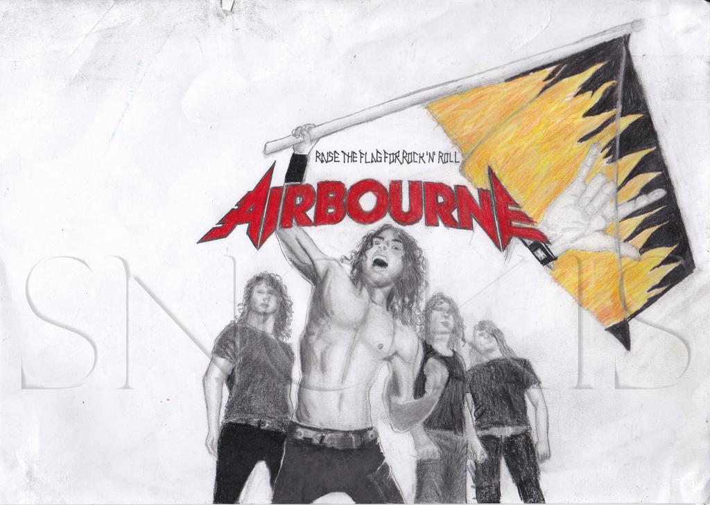 AIRBOURNE - RAISE THE FLAG LYRICS - SongLyrics.com