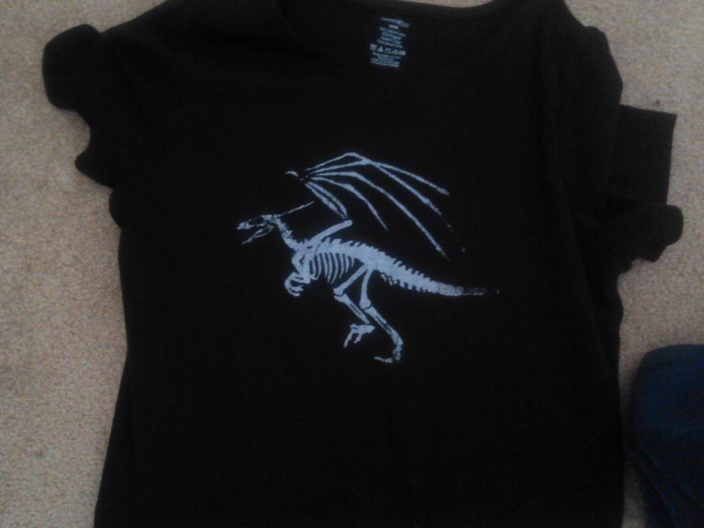 Dino Shirt by Silver-Drake