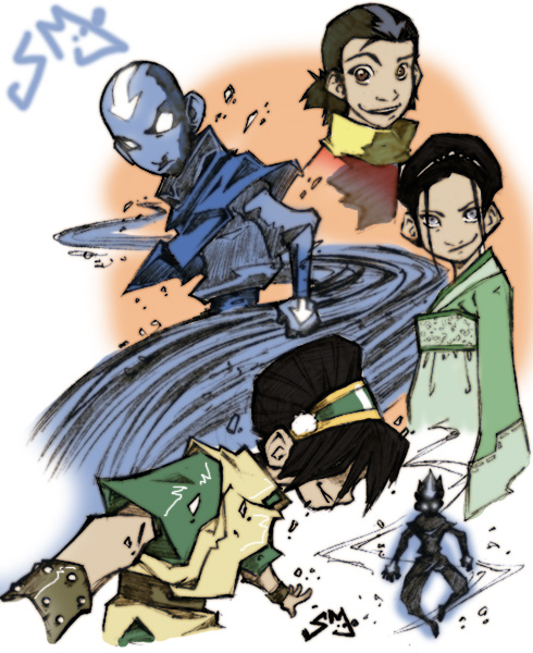 Suggest you Aang e toph sexy image can