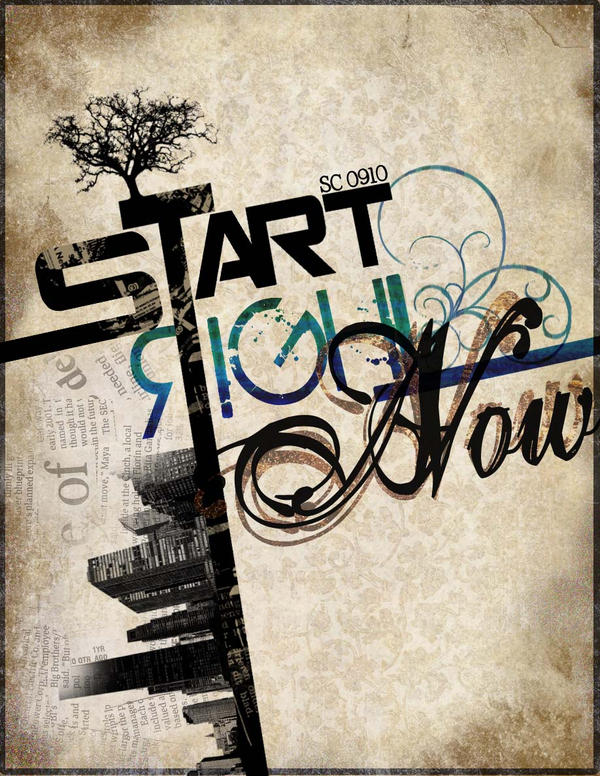 Start.Right.Now. by unchartedterritory