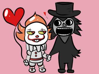 Horror Couple  by TranzmuteProductions