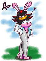 SPRING PROMO: Shadow Bunny by TranzmuteProductions