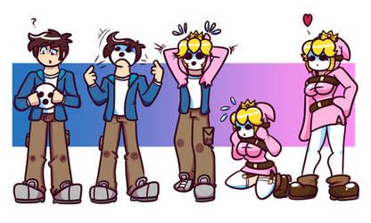 COM: Princess Shygirl Transformation