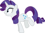 Excited Rarity by CherryGrove