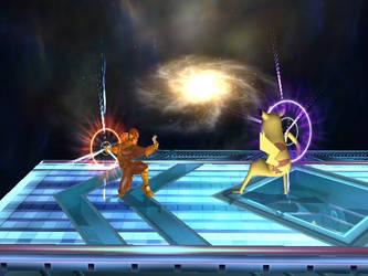clash of universe.....