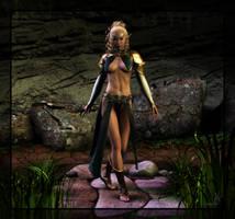 Elf Mage by LadySythe