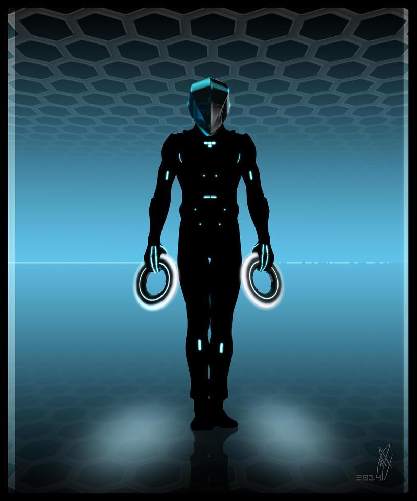 Grid Hero (BLU) by LadySythe
