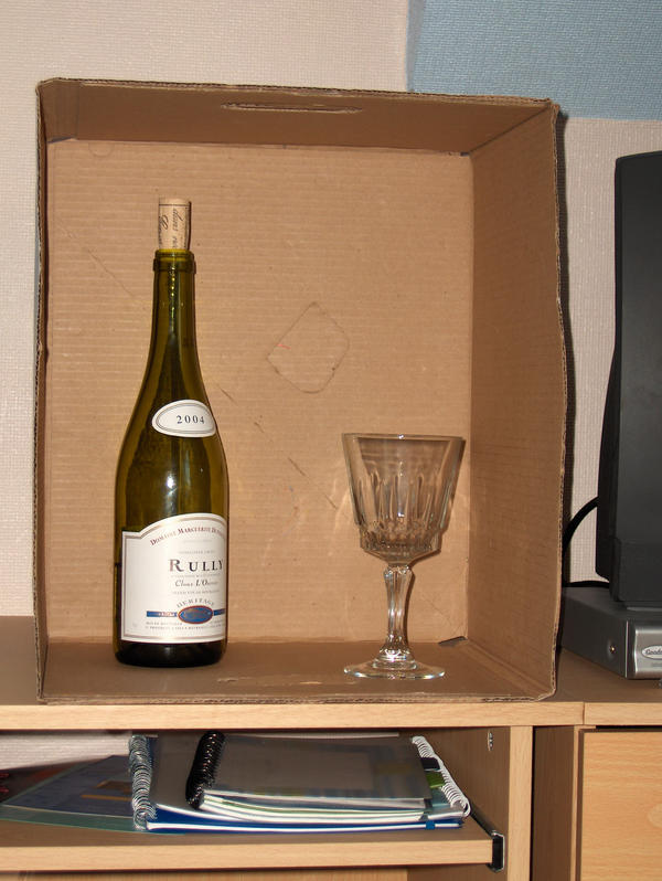 wine in a box by bogwopit