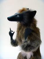 Oran'ye the Fox Room Guardian Face by AnyaBoz