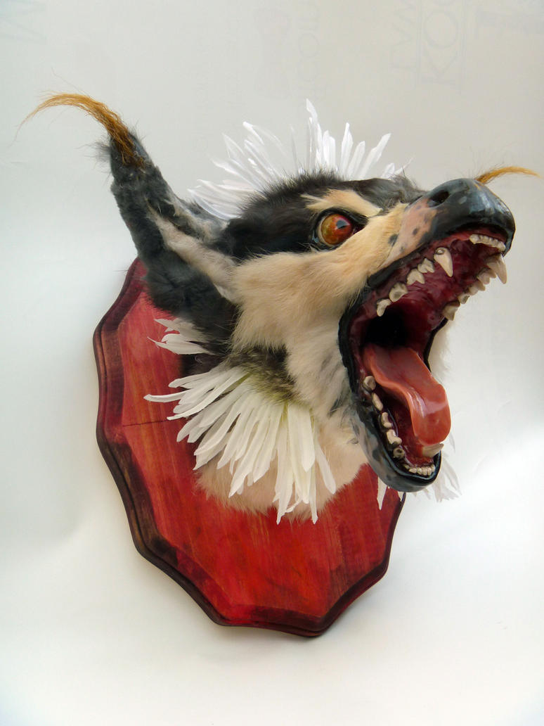 Bathsephus Mounted Head (For Sale) by AnyaBoz