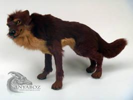 Dacke the Werewolf Room Guardian(Quad) by AnyaBoz