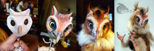 Owl room guardian process by AnyaBoz