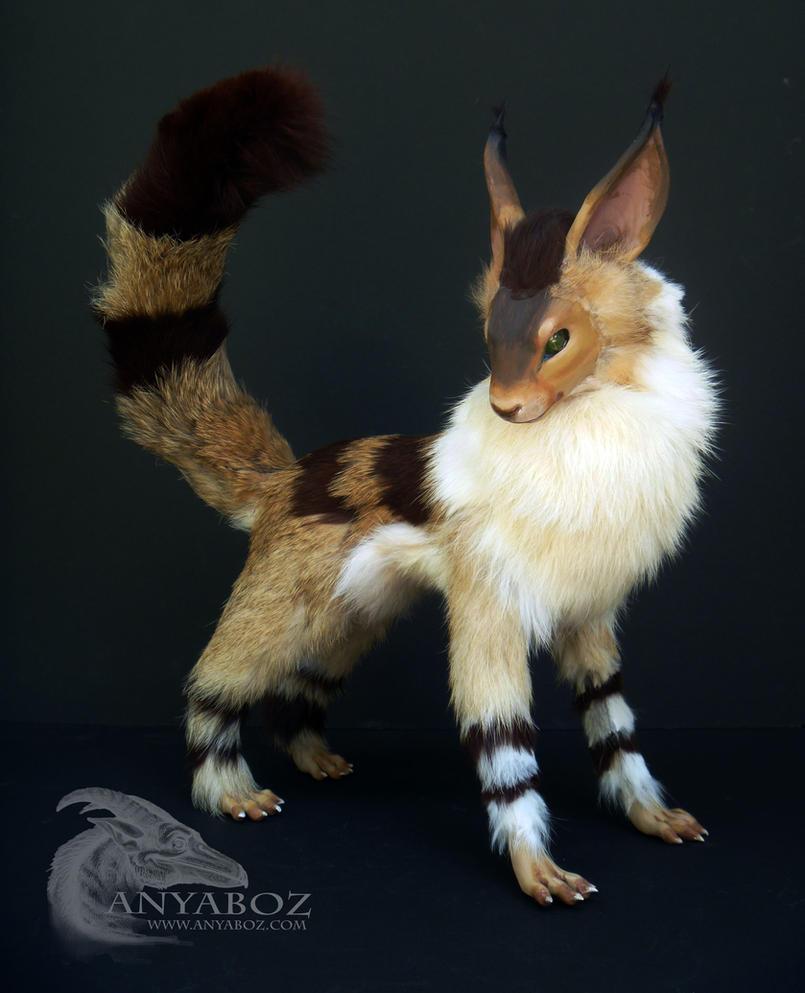 Fox Squirrel Room Guardian by AnyaBoz
