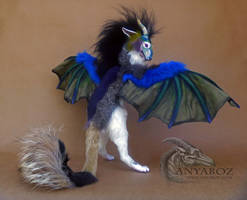 Siberian Dragon Room Guardian by AnyaBoz