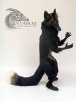 Dark Fox Room Guardian by AnyaBoz