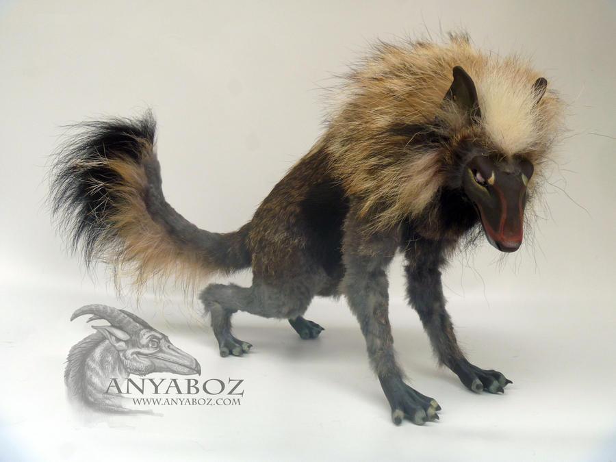 HyenaWolf Room Guardian by AnyaBoz