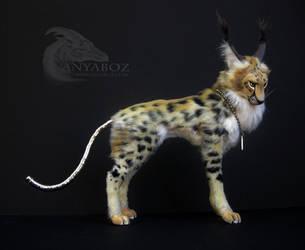 Dodge the Cheetah Room Guardian by AnyaBoz