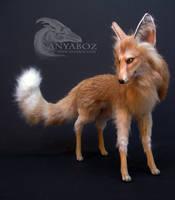 Sahara the Fennec Fox Room Guardian by AnyaBoz