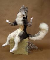 Zael the Fox Room Guardian by AnyaBoz