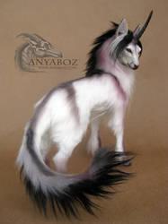 African Unicorn Room Guardian by AnyaBoz