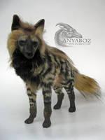 Striped Hyena Room Guardian by AnyaBoz