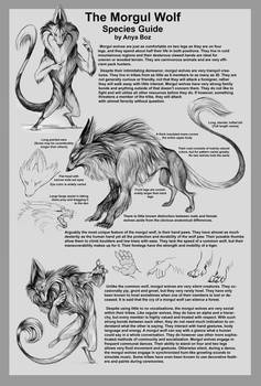 Morgul Wolf Species Guide