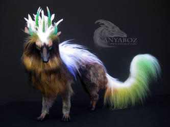 Vhade Forest Dragon Room Guardian by AnyaBoz
