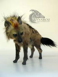 Blue Eyed Hyena Room Guardian