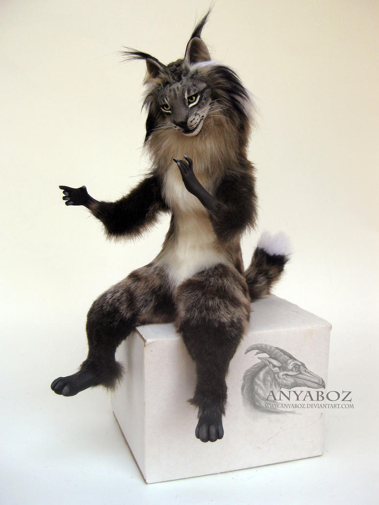 Sitting Lynx Room Guardian By Anyaboz On Deviantart