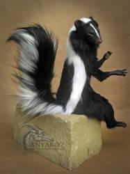 Skunk Room Guardian by AnyaBoz