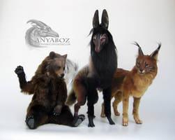 Feb 3rd Room Guardian Trio by AnyaBoz