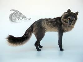 Summer Arctic Fox Room Guardian by AnyaBoz