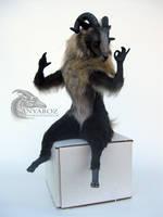 Mouflon Goat Room Guardian by AnyaBoz