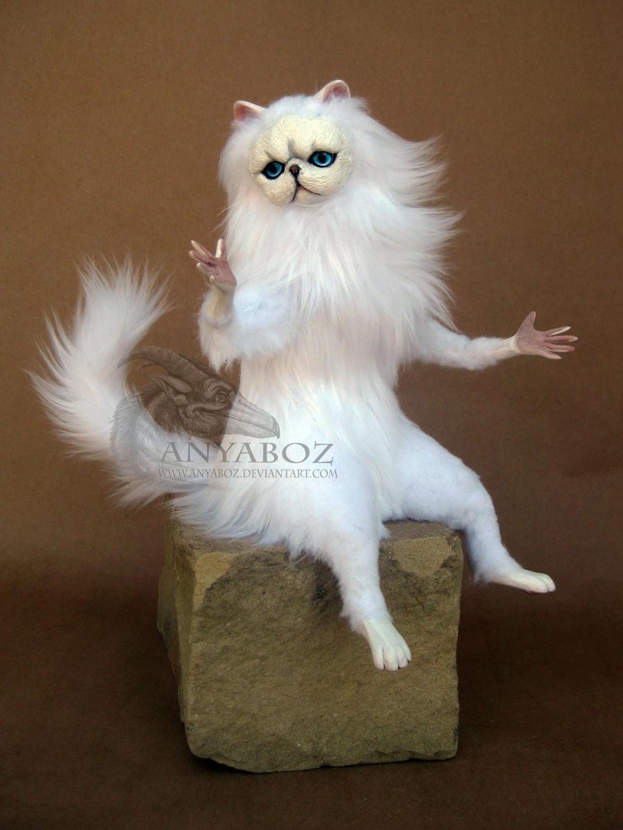 White Cat Doll Meme