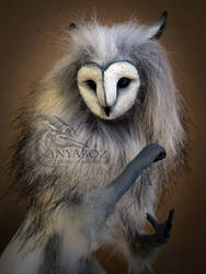 Barn Owl Sprite Room Guardian by AnyaBoz