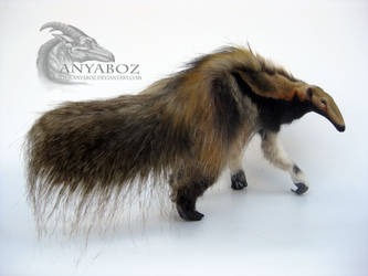 Giant Tawny Anteater Room Guardian by AnyaBoz