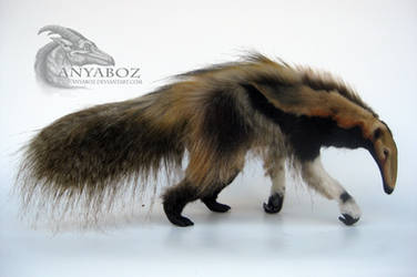 Giant Tawny Anteater Room Guardian