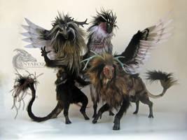 Room Guardian Spirit Series by AnyaBoz