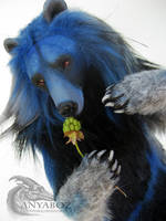 River Spirit Bear Room Guardian by AnyaBoz