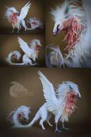 Iridescent Angel Phoenix Room Guardian FOR AUCTION