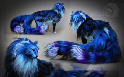 Blue Nekomata Room Guardian