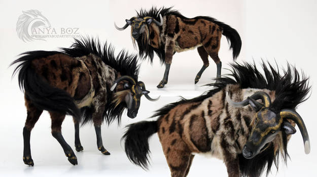 Marbled Wildebeest Room Guardian