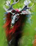 Scarlet Shadow Dragon Room Guardian
